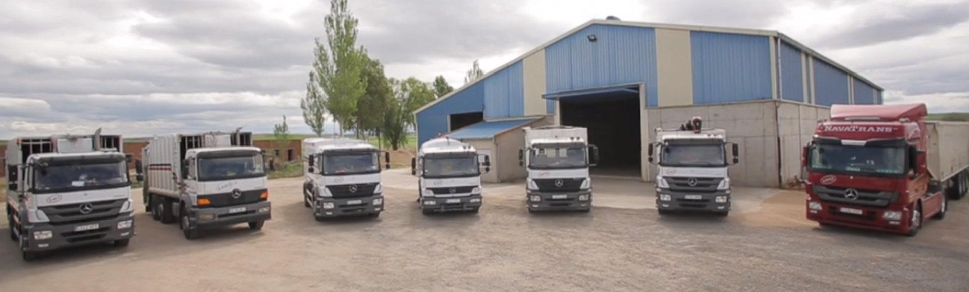 Nuestra Flota de Camiones
